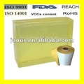 Supply hot melt adhesive glue block for label