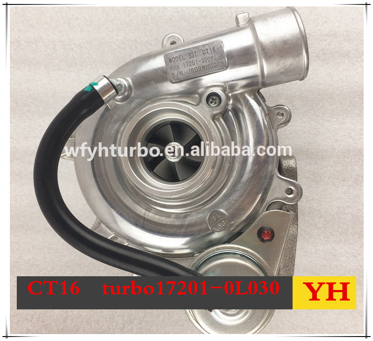CT16/CT9 turbocharger turbo charger chra/cartridge for hilux d4d 2.5l diesel the engine 2KD-FTV WEIFAN YHRUEBO IN CHINA