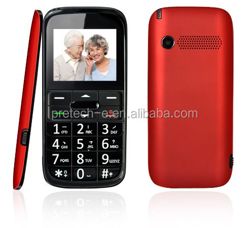 MTK6260 TFT 2.2 inch screen GPS tracker SOS Cheap mobile phone for old people