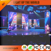 floor tile screen P4 led billboard manufacturer
