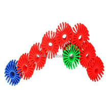 Quick-change colorful toy wheel ABS gears