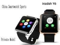 Multifunctional y6 smart watch y6 Bluetooth Smart watch 2015 smartwatch touchscreen/Pedometer/Sleep Monitoring/Remote Control
