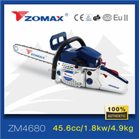 Zomax ZM4680 agricultural cutting tools chop wood machines two stroke engine