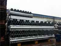 hot dipped galvanized steel tube for Low Pressure Liquid Transportation