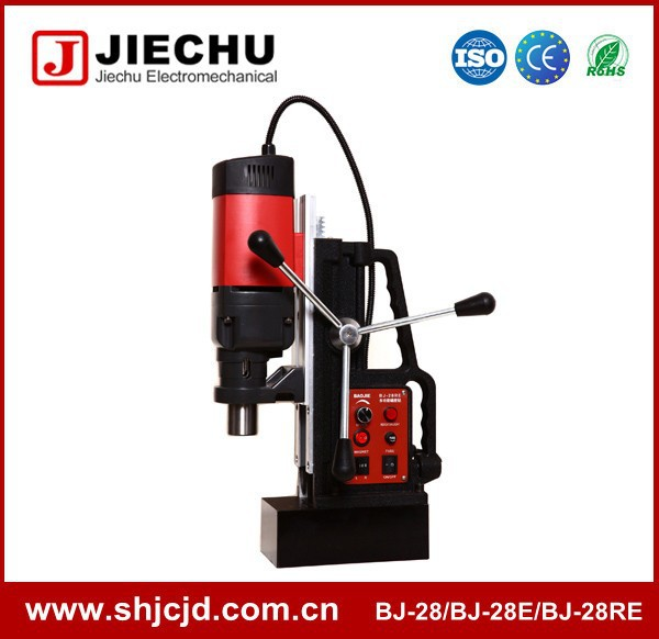 28MM BJ-28 power tool small tapping and threading magnetic drilling rigs machine China supplier
