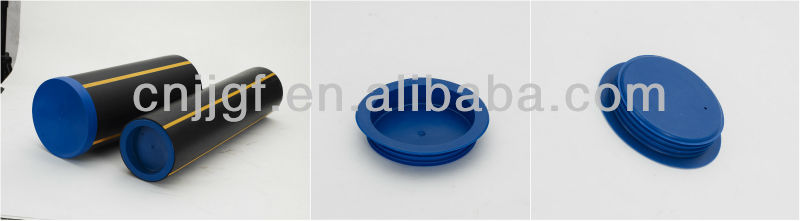 plastic protectors plugs for steel pipe PVC pipe supply free samples