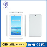 7inch 3G tablet MTK8312 dual core android 5.1 1GB/8GB two cameras China OEM
