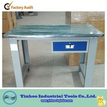 2014 latest work benches with one drawer for sale/ work bench with bench vice