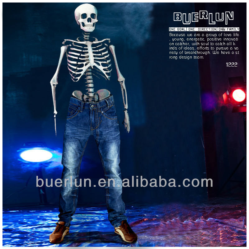 latest design jeans OEM custom fashion european style men denim jeans