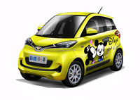 2 seaters electric car with DOT for USA