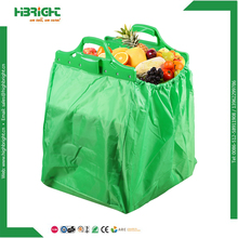 supermarket trolley reusable polyester shopping bag