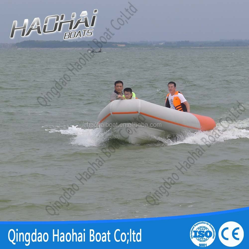 CE 2015 newest design 4.7m rigid hull inflatable yacht rib boat with fish well