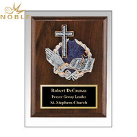 Wooden Plaque Award Christian Religious Trophy