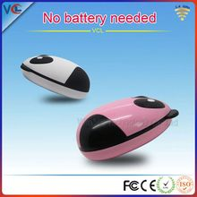 High Quality 2.4GHz 1000-1600 DPI mini wireless optical mouse fcc standard with USB Mini Receiver and LED Light