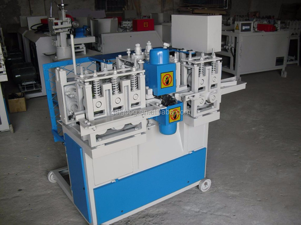 Wood Broom Stick Macking Machine Wood Mop Handle Making Machine Wooden Broom Handle Machine