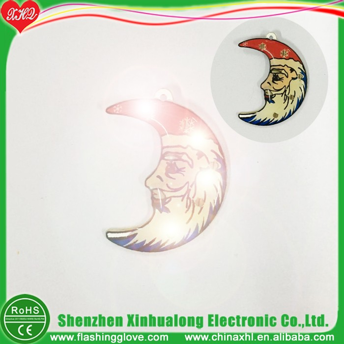 Christmas Epoxy Led Christmas Tree Pin
