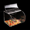 fashionable store candy sweet display acrylic display box hanging