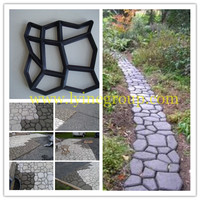 injection Paver tile Plastic mold paving garden sidewalk mold for precast concrete stone