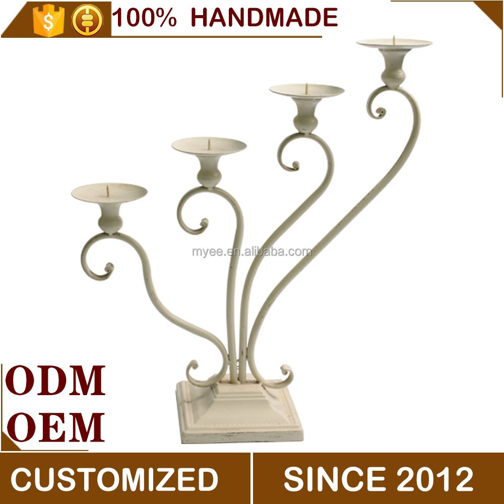Hot selling 4 arm candle holder,religious candle holder