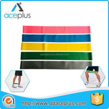 Exercise light ankle resistance bands to gain muscle
