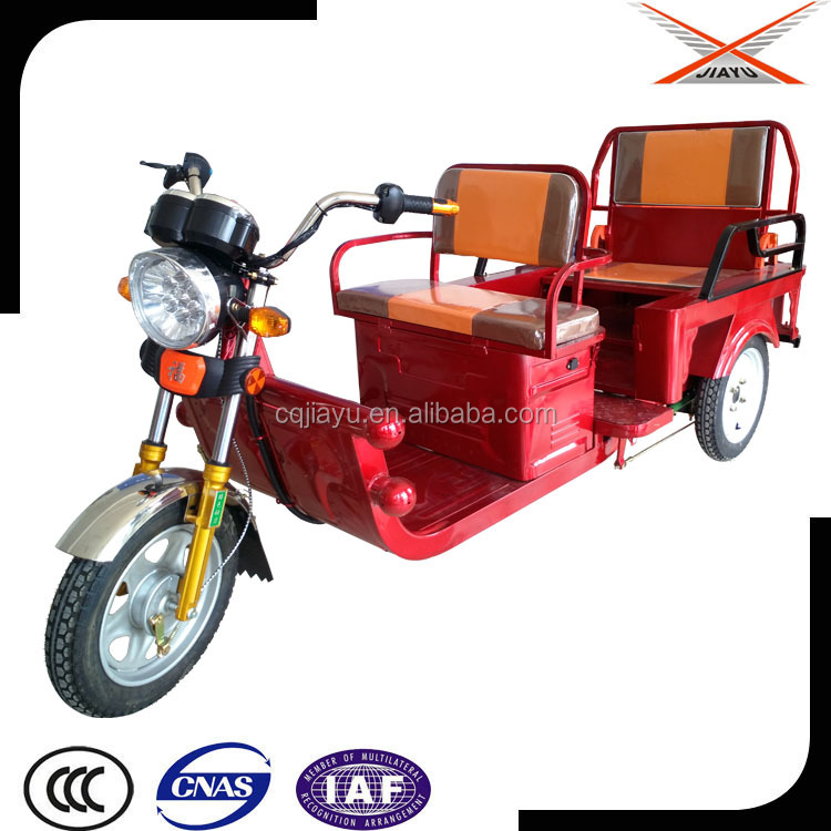 Passenger and Cargo Use Electric Powered Tricycle, Electric Motorcycle 3 Wheel for Sale