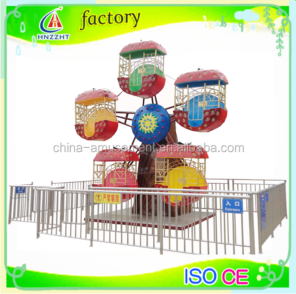 kids park electric rotating small ferris wheel for children