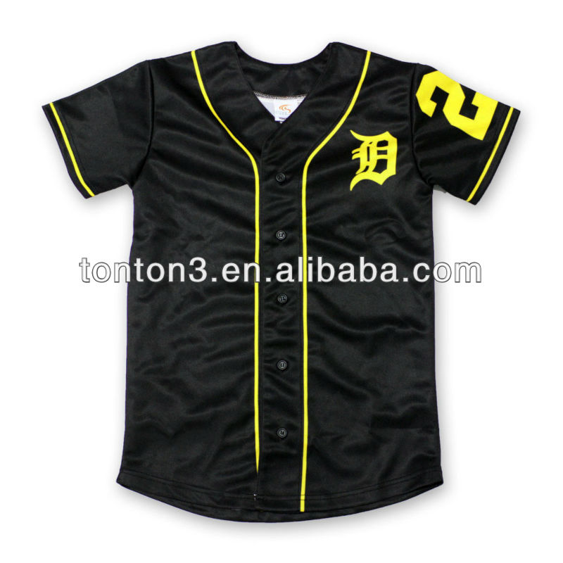 Full Sublimation button women's baseball jersey