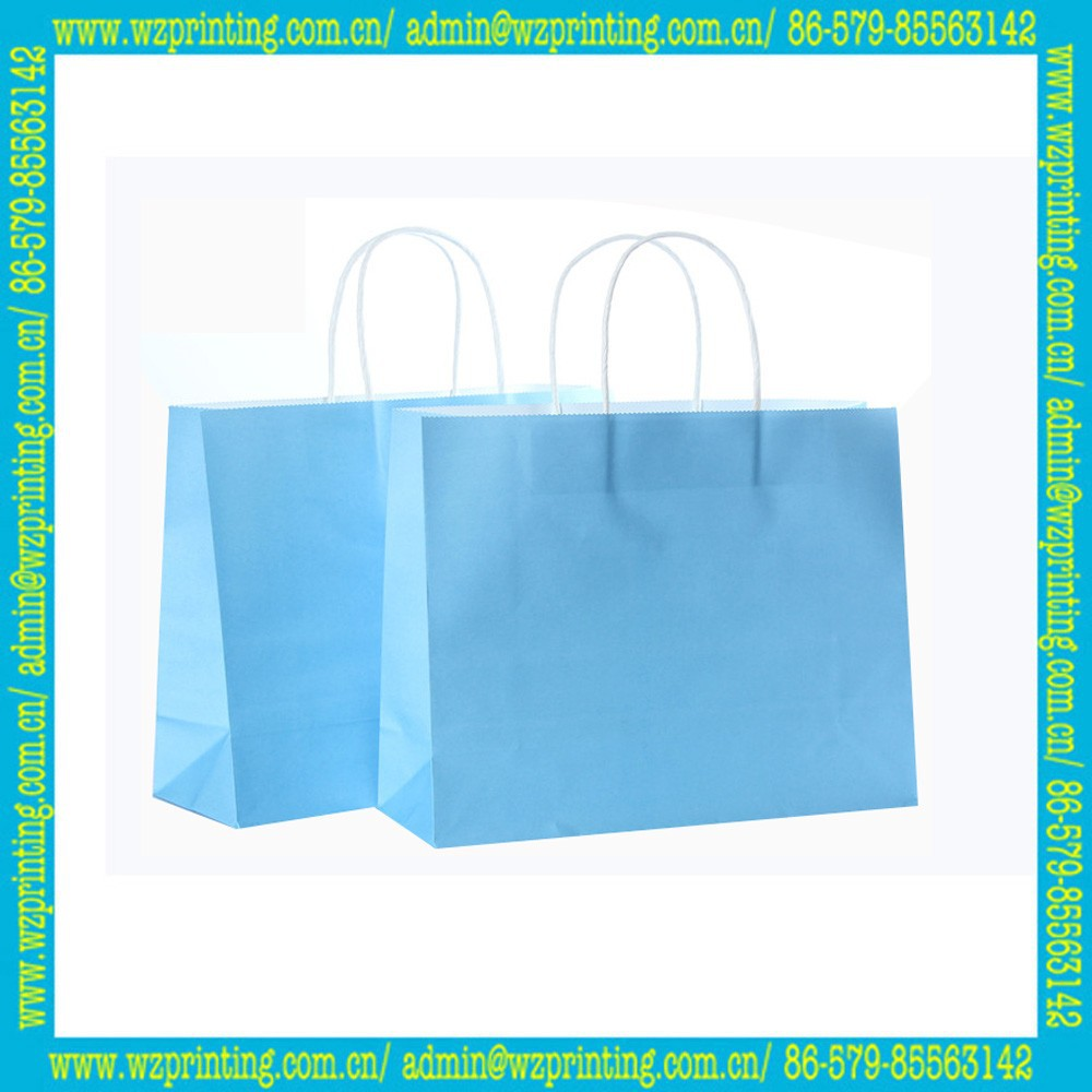 made in china biodegradable shopping lime green paper bags