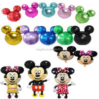 High quality Mickey head big helium air mylar inflatable balloons