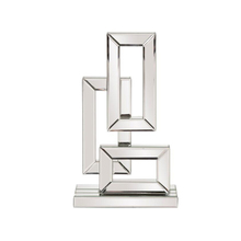Popular Custom Wholesale Supplier Art And Craft Geometrical Metal Art stainless steel metal sculpture For Home Decoration