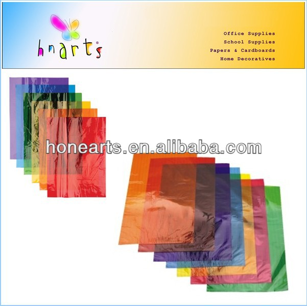 color cellphane ,cellophane paper, cellophane sheet in changsha