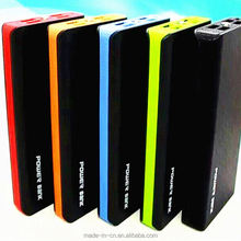 banks metal quick charger 8000mah drawing books power bank