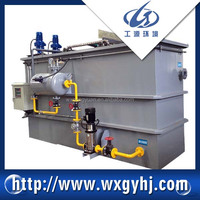 GDXF dissolved air flotation system for grease oil included waste water treatment