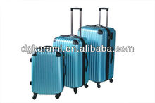 stock abs/pc travel suitcase factory for 2014