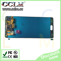 for samsung mobile phone lcd, touch screen for note 4, original note4 lcd screen digitizer assembly wholesale price