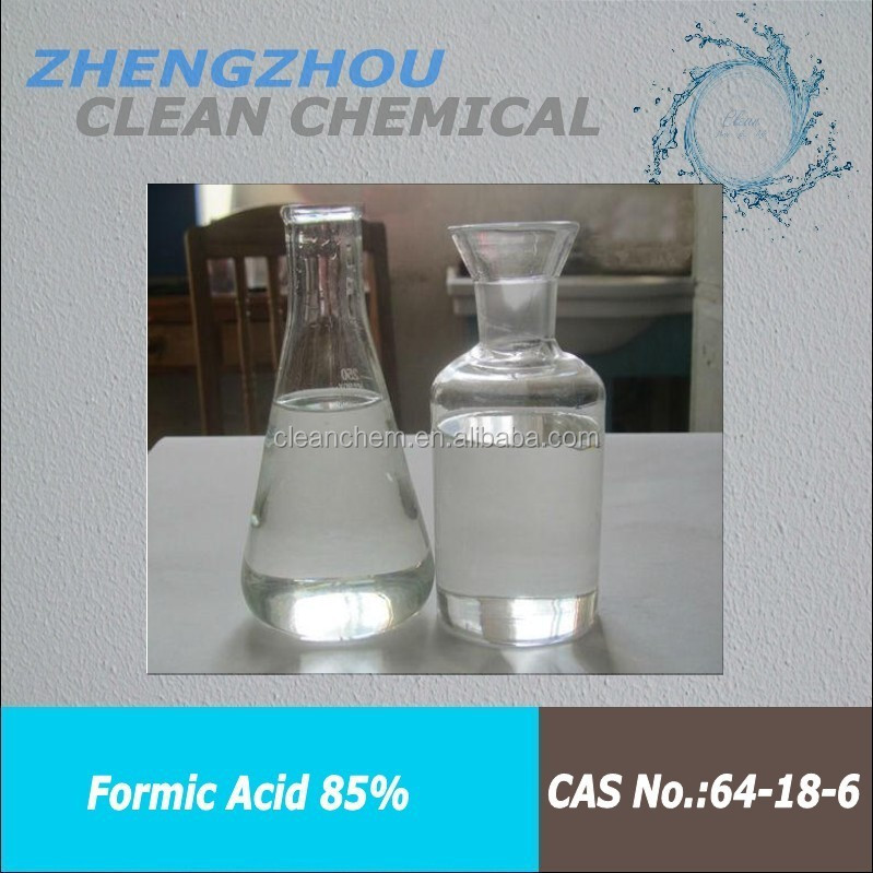 low price formic acid 85% colorless liquid