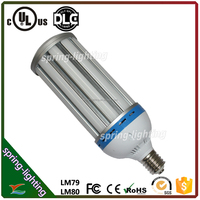UL CUL listed 360 degree beam angle 100w 13000Lm AC100-277v LED corn light lamp replace MH in high bay fixtures