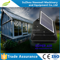 Newmeil SuperAir-R/S solar energy 12w15w20w 24v solar ventilation fan for home