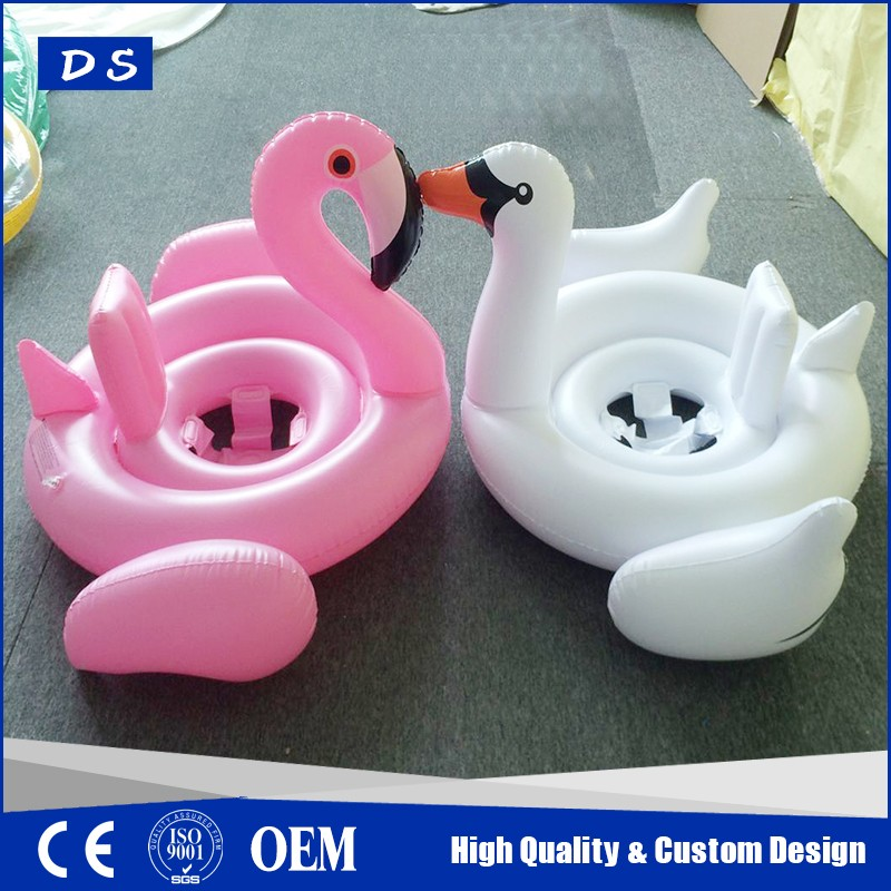 Most popular inflatable baby flamingo pool float water games for sale