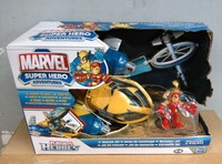 Action Figures Marvel Playskool Super Hero Adventures Rescue Jet