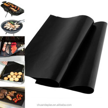 2015 New Product fire retardant bbq grill mat 2 pack non stick easy clean bbq grill mat