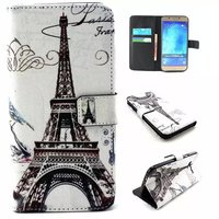 Flip Print PU Leather Wallet TPU Cover Case For Samsung Galaxy A8