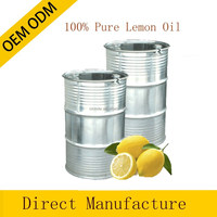 100% pure and natural Lemon essential oil in bulk private label offered 180KG