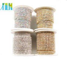 Rhinestone Chain Trims, close rhinestone cup chain