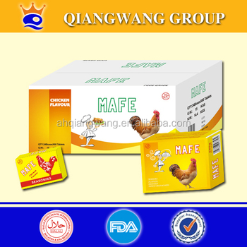 5g*120*24 HALAL CHICKEN TABLETTE CUBE SEASONING CUBE CHICKEN BOUILLON CUBE CHICKEN SOUP CUBE CHICKEN CUBE