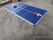 5ft Portable Table Tennis Table mini size ,Pingpong table portable