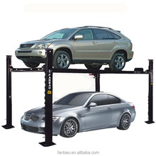 car parking lift double level hydraulic car lift with CE certification Shanghai Fanbao 4QJY3.0-C