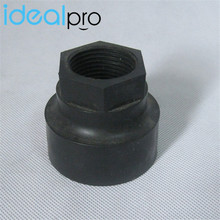 Custom small screw thread cap plastic plug insert screw nut plastic injection molding screwed parts