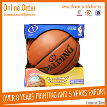 Custom portable folding Basketball Corrugated Packaging Boxes