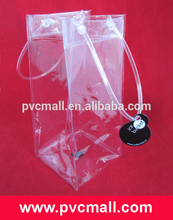 Alibaba Wholesale pvc ice bag for wine bottles with Quality Assurance